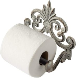European Design Iron wall toilet tissue holder