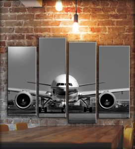 Airplane Wall Art Decor